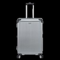 Stripe - Hartschalen-Koffer L (76cm) silber