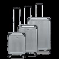 Stripe - Koffer-Set 3-teilig Hartschalen-Koffer (S, M, L)